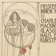 Old Mackintosh Book Cover.